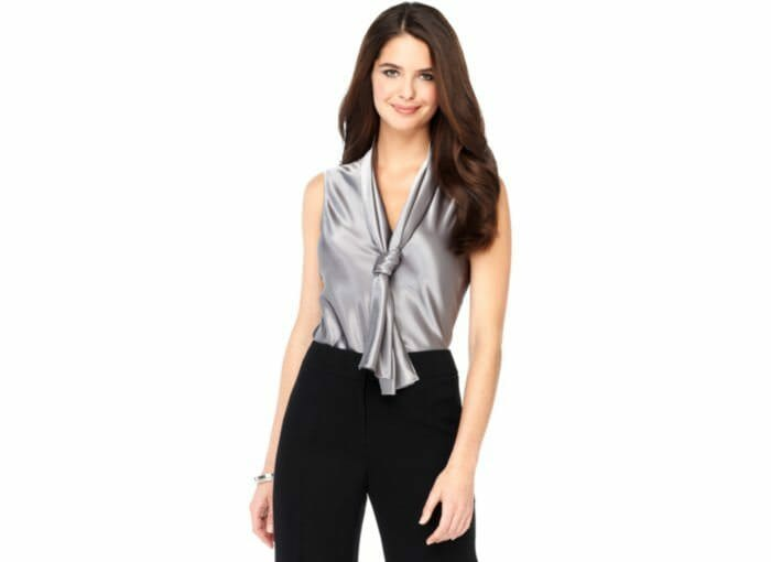Work It Tie Neck Blouse The Corporate Sister