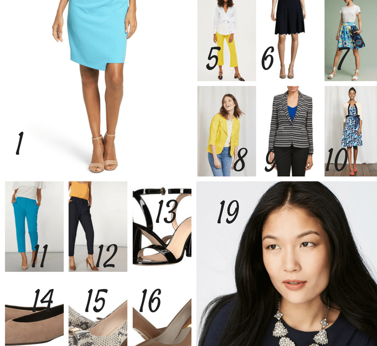 6dbca454dd9 How to create a 20-piece Summer Capsule Wardrobe for Work - The ...