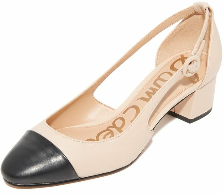 09cf604b901 Wear to Work  Leah Cap Toe Pumps - The Corporate Sister
