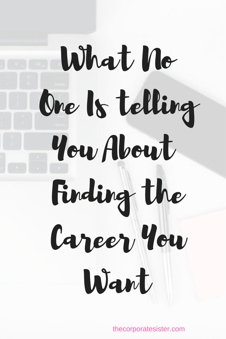 how to find what career you want