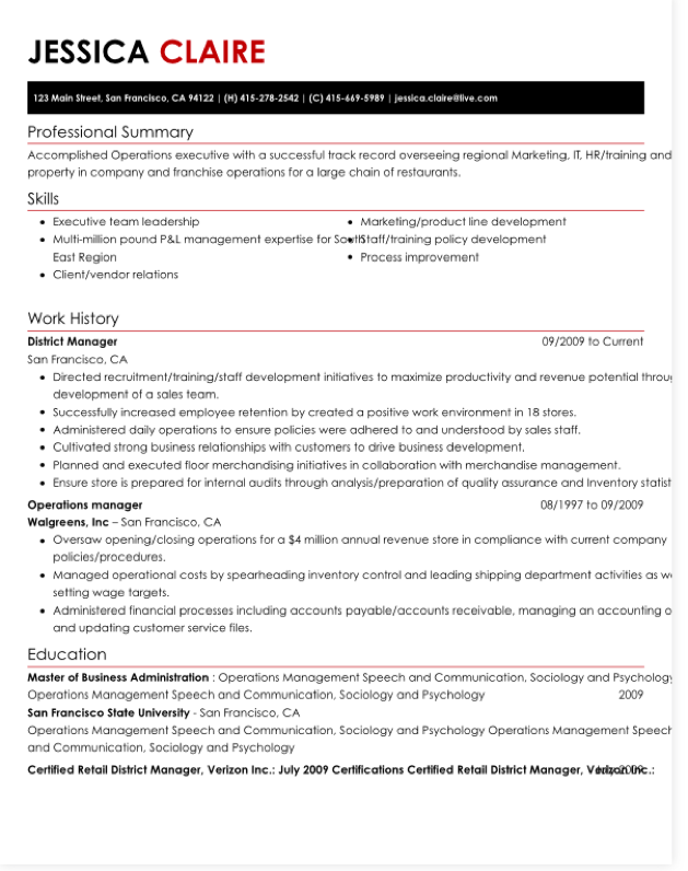 hloom resume template the corporate sister With hloom resume templates